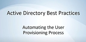 User Provisioning Automation