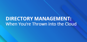 Directory Management in the Cloud